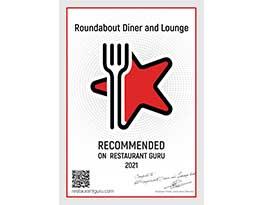 restaurant guru recommended 2021 award - best diner in portsmouth nh
