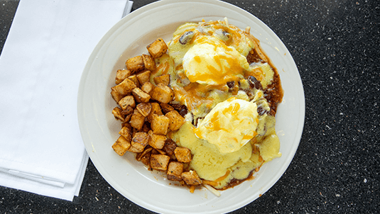 best chilli benedict omelette Portsmouth NH